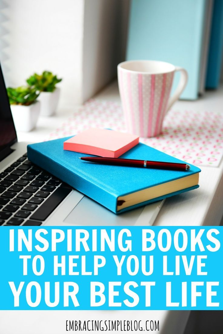 Do you want to make positive improvements in your life, but have no idea where to begin? Don't miss this fabulous list of inspiring books to help you live your best life! This list include books that will help you to create happiness, live with less, develop better habits, live a healthier life, and be more successful in all aspects of your life.