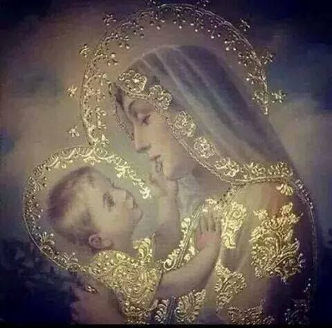 Isn't this painting of Mary and Jesus soooo beautiful?