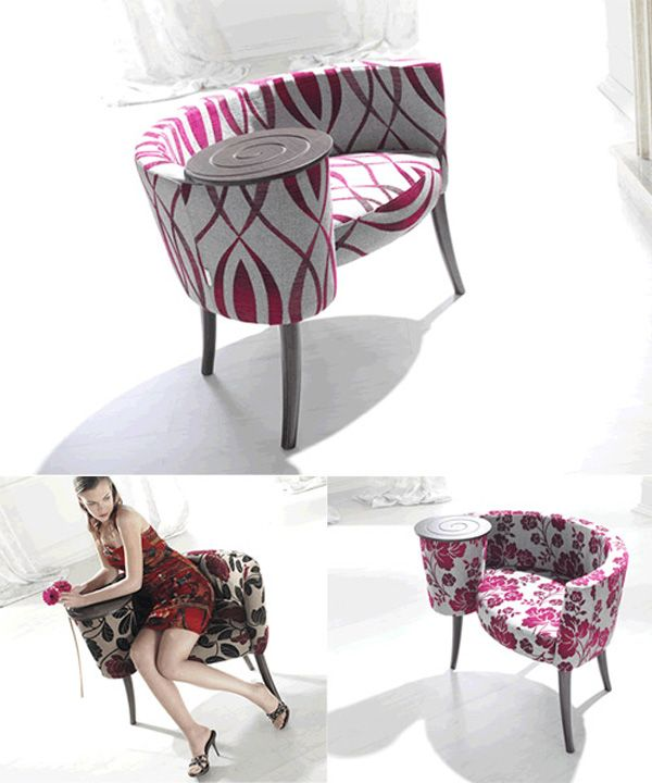 200 best images about telephone gossip bench chair on for Funky modern furniture