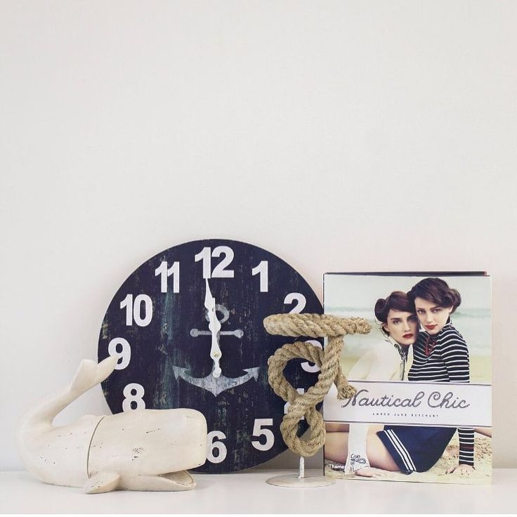 If your looking for a classical nautical theme for your home you've come to the right place! Store wide we have the perfect home necessities to create your dream coastal abode  #hamptonsstyle #nautical #coastal #clock #whalebookends #nautcalchic #coffeetablebook #homedecor #interiordesign #supportsmallbusiness &styling @tanikablair_design