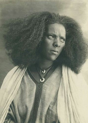 Another photo of what my hair looks like currently in the DR.  Great shot. Somalia-Eritrea 1936