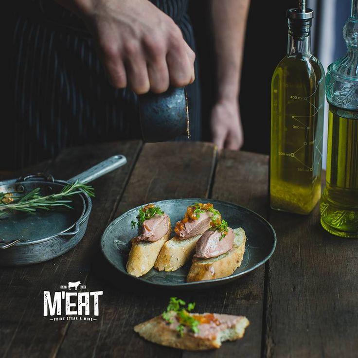 Homemade chicken liver pate #meatbybeat #beatgroup #meatrestaurant #steakhouse #steaks #azerbaijan #baku #restaurants #food #cuisine #beef #veal #pate
