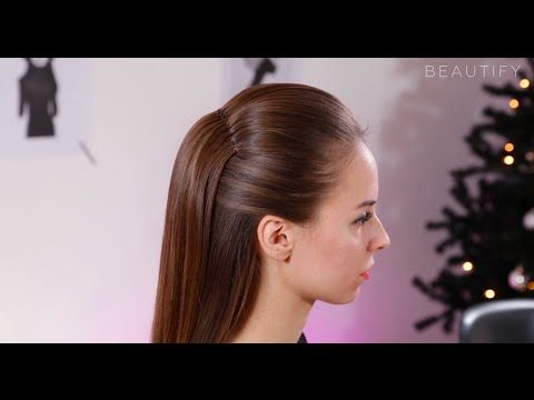Holiday Hair Special – De mooiste halve updo - YouTube