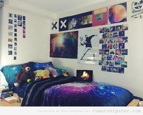 17 mejores ideas sobre habitaciones hipster en pinterest - Decoracion hippie habitacion ...