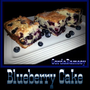 Melt In Your Mouth Blueberry Cake recipe...Yummers!