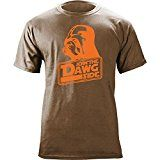 Vintage Cleveland Join the Dawg Side Funny T-Shirt (L Heather Brown)