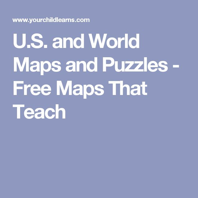 Best Free Maps Ideas Only On Pinterest Continents Activities - Us puzzle map owl mouse