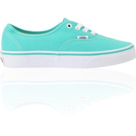 TIFFANY BLUE <3 Vans Authentic Pool Green & White Shoe