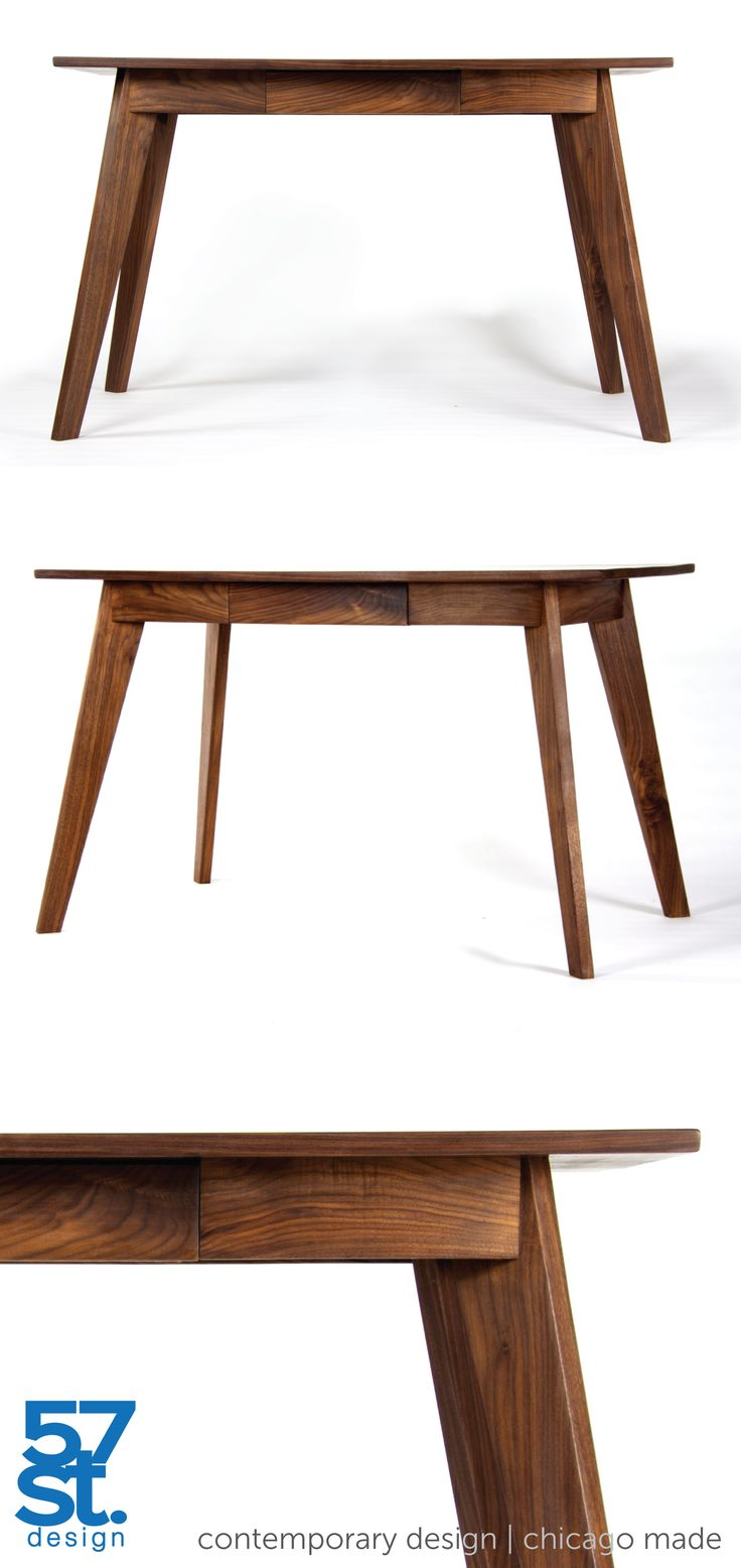 Table spoon conference table michigan state university table - A Contemporary Modern Desk In Solid American Walnut With A Danish Oil And Wax