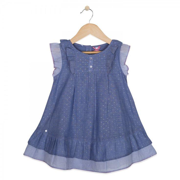Vestido Bebe Niña C/calzón Comprar en Tienda Online Chile