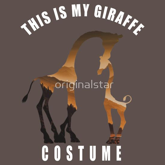 costume giraffe humor fun lovely