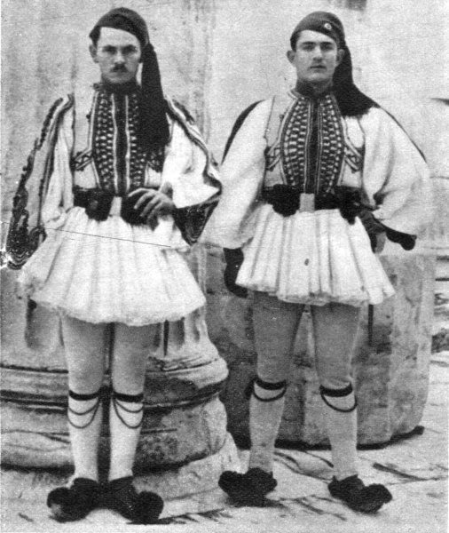 Greek Men in National Costume c1930
