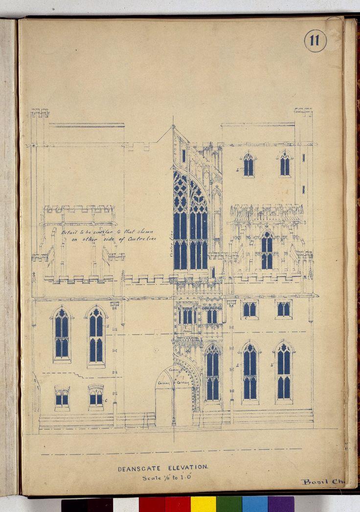 John Rylands Library Plans