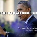 Obama Tweet: Best Defense Against Extremists is a Strong Muslim Community....  JAN 31 2014