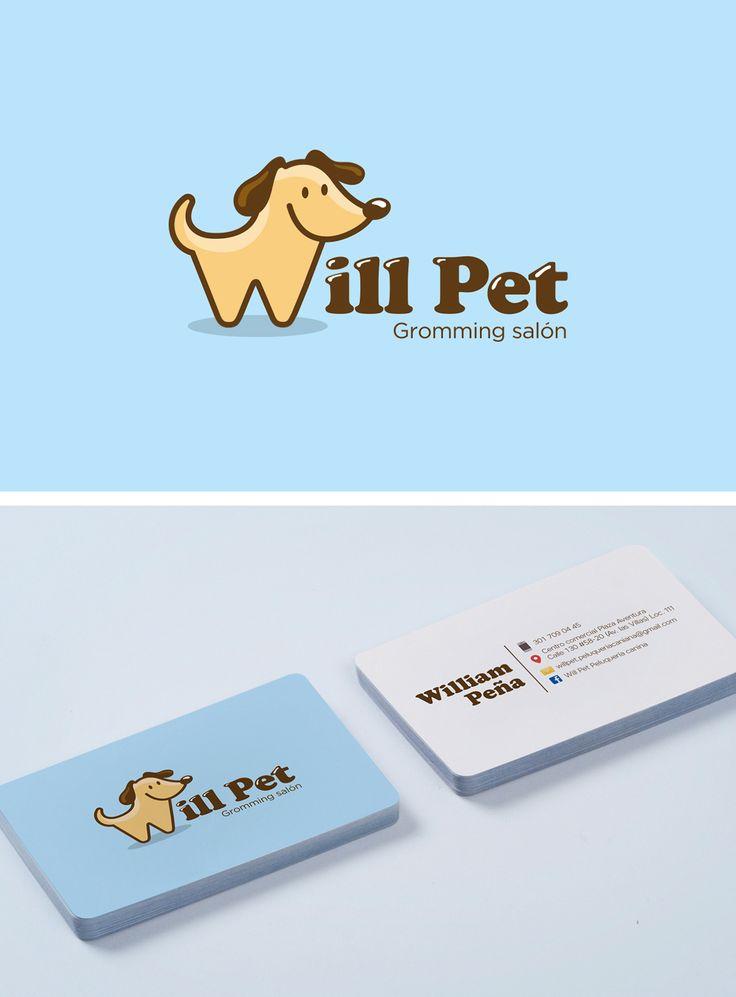 Diseño de Imagen para peluquería canina Willpet en Bogotá Colombia