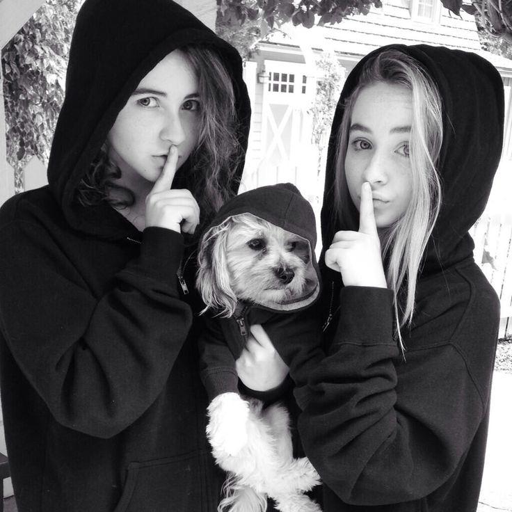 Sarah & Sabrina & a 'lil pup