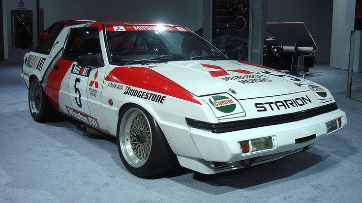 car 1982 to 1988 mitsubishi starion   三菱 スタリオンターボ グループA - デトロイト ...