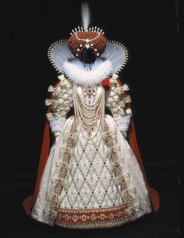 white and red detailed elizabethan dress gown renaissance photo whiteandredelizabethandress.jpg