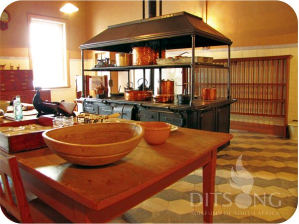 .: DITSONG MUSEUMS OF SOUTH AFRICA :. Sammy Marks Museum - The kitchen with the huge stove that came all the way from Scotland