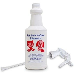 Finally a Pet Stain Remover and Urine Smell Odor Eliminator That Really Works!