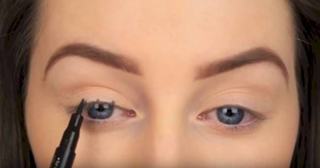 DIY How to Make Perfect Winged Eyeliner-New Technique