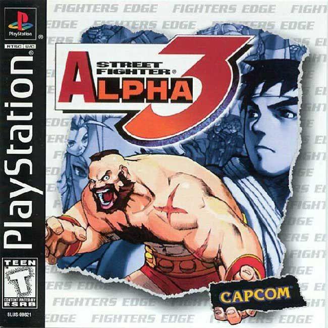 Street Fighter Alpha 3 Sony Playstation