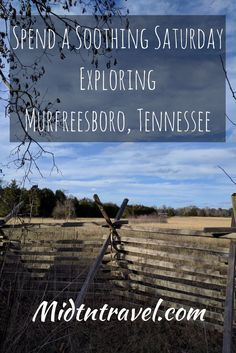 Relaxing activities in Murfreesboro Tennessee