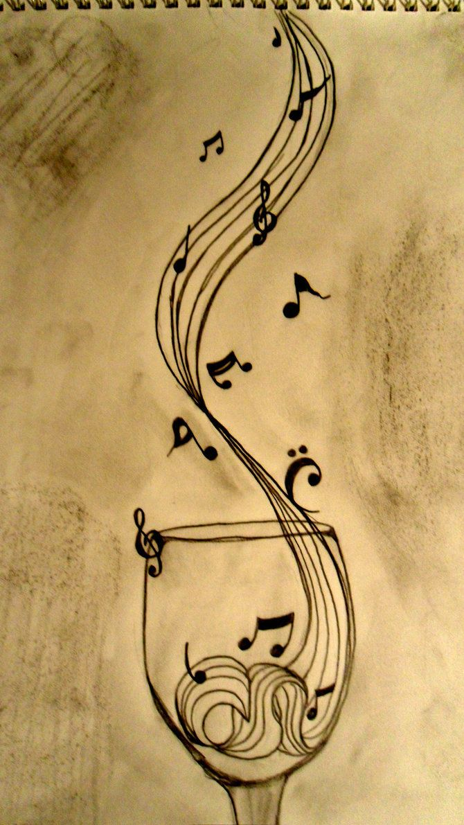 im obsessed with drawing music notes, haha