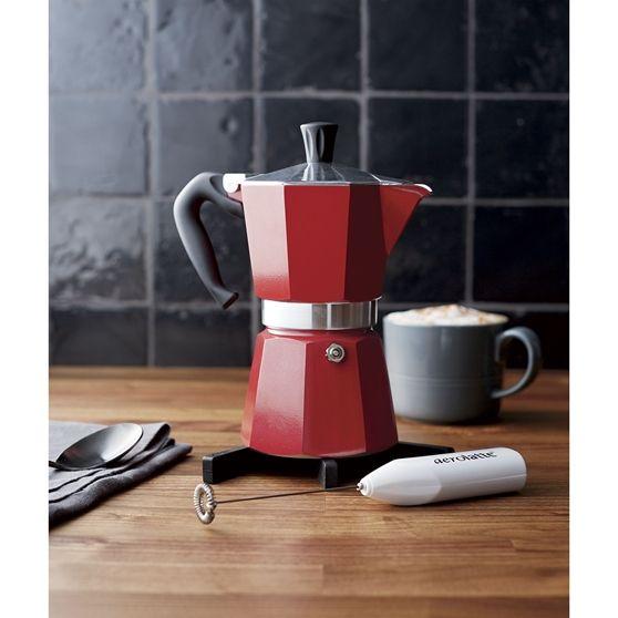 Bialetti ® Moka Kırmızı Espresso Demliği 6 Cup
