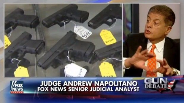 Judge Napolitano Says Obama Admin. Is Breaking Federal Law Prohibiting Gov't From Compiling Gun Owner 'List' | Video | TheBlaze.com 08/04/2016