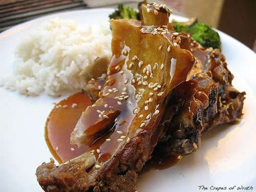 Crock Pot Korean Style Ribs - The Crepes of Wrath