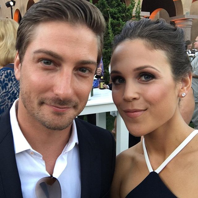 Daniel Lissing and Erin Krakow
