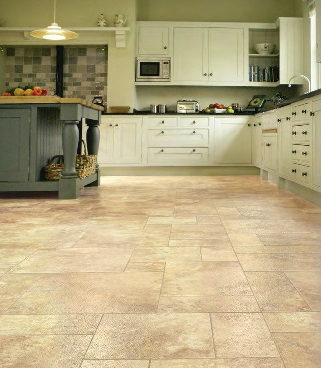 Luxury Vinyl Tile Cuarzo Or Quartz Stone Kitchen Floor
