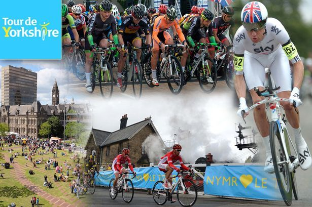 Tour de Yorkshire 2016 routes and maps of three stages of the...: Tour de Yorkshire 2016 routes and maps of three… #TourdeYorkshire2016