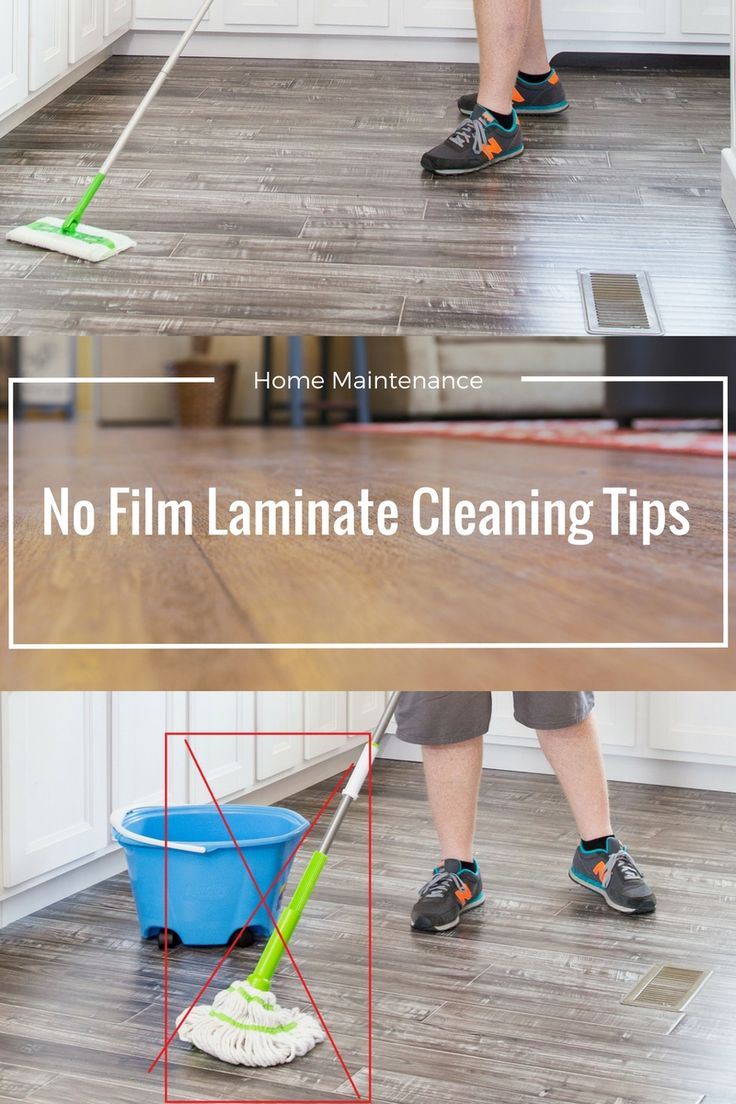 How to get sparkling clean laminate floors without