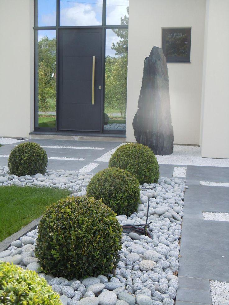 jardin avec ardoise recherche google maisons pinterest ardoise jardins et ext rieur. Black Bedroom Furniture Sets. Home Design Ideas