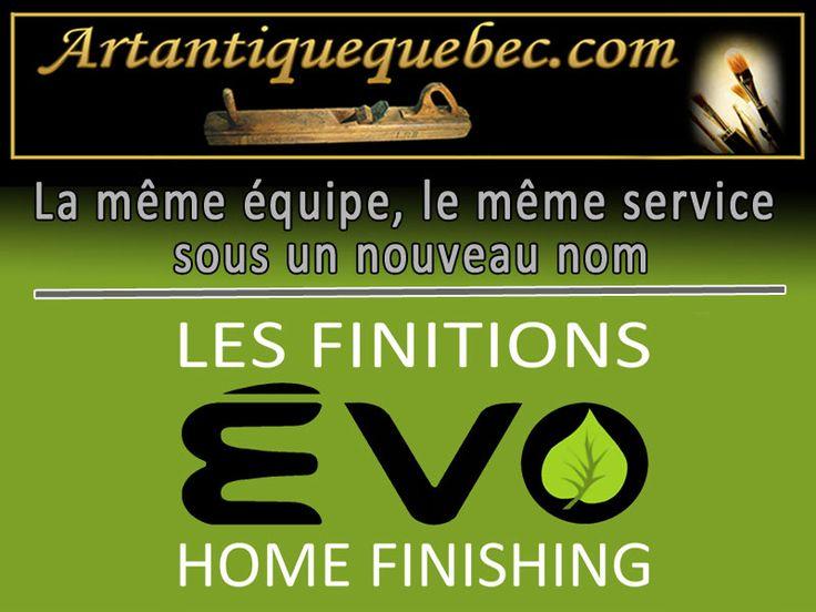 Les finitions ÉVO - Distributeur de produits de finition pour le bois