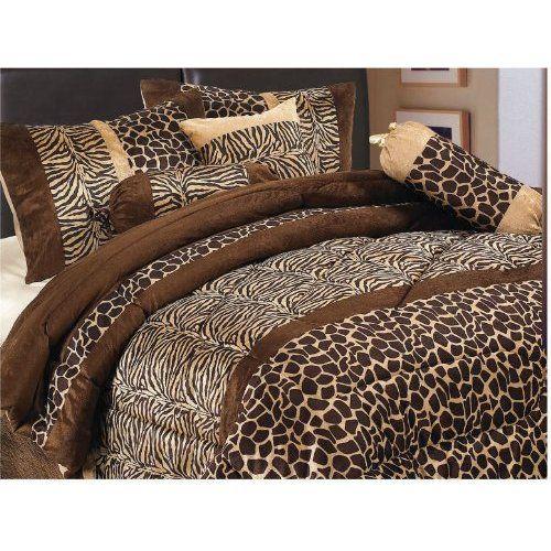 leopard print bedspread   Leopard print bedding- I'm in love!!