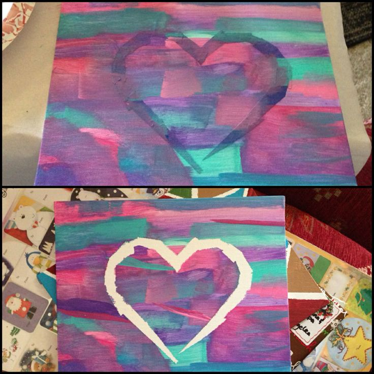 Best 25 painters tape art ideas on pinterest tape for Tape painting on canvas
