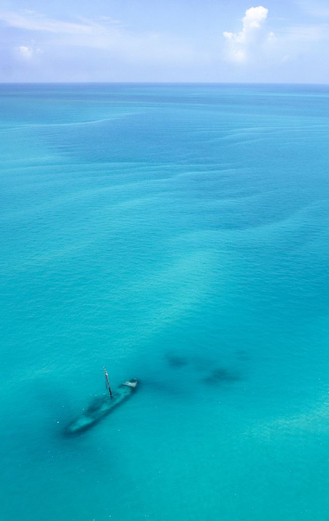 Shipwreck near the Dry Tortugas National Park - 70 miles west of Key West, Florida, USA | by Burningphotography