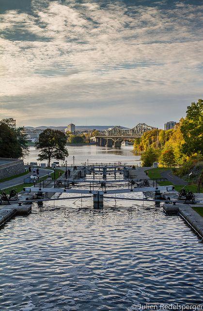 Ottawa, le Canal Rideau et la rivière Ottawa | Flickr: partage de photos!