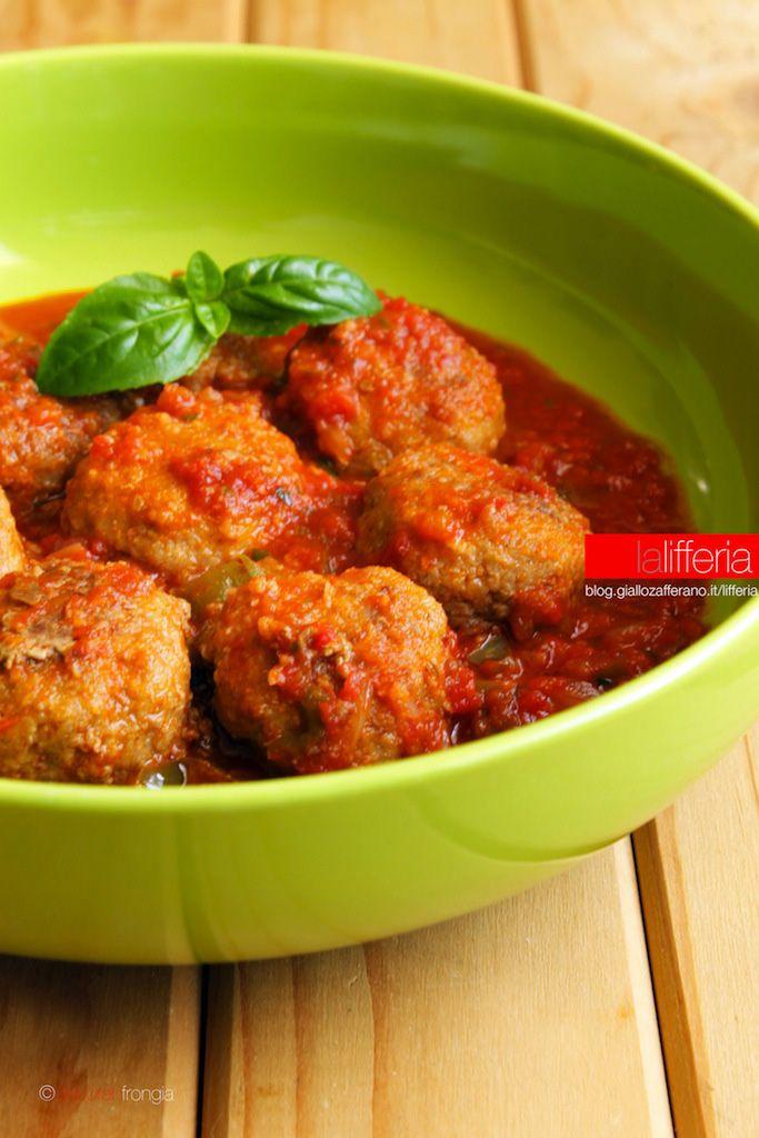 Polpette alla salsa di basilico