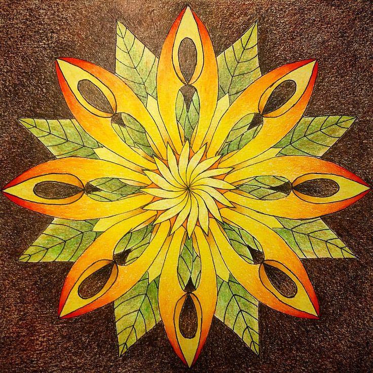 "36 colour pencils ""Polychromos"" Faber-Castell. #mandala #zen #mandalaart #zenart #polychromos #fabercastell #coloredpencil #pencildrawing #art #drawing #мандала #дзен #graphics #графика #рисунок #арттерапия #arttherapy"