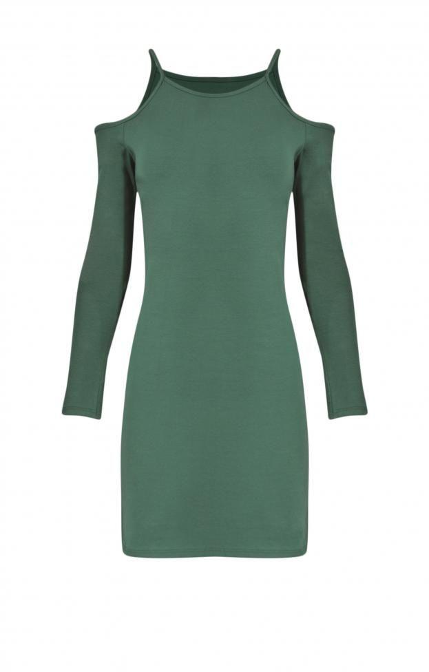 Γυναικείο φόρεμα ραντάκι με μανίκια | Φορέματα - Φορέματα 2016 -