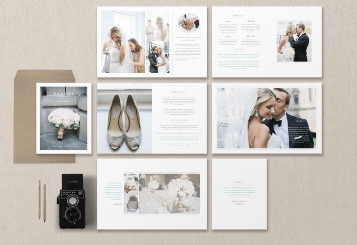 bridal welcome guide | wedding magazine template | bittersweet designs