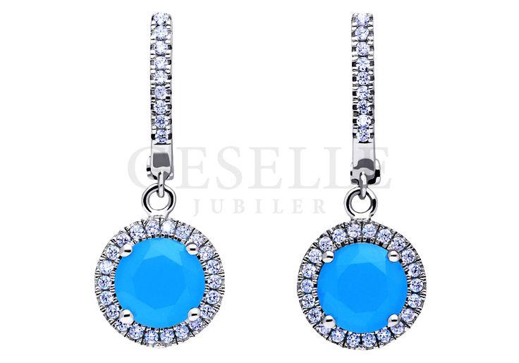 Cieszący się popularnością srebrny komplet biżuterii z kwarcem naturalnym