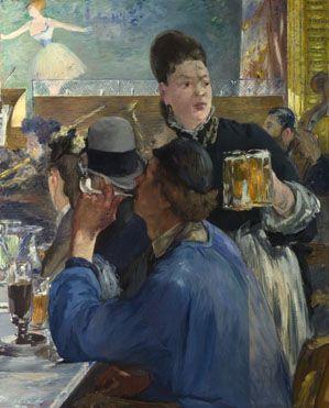 Manet, Édouard - Serveuse de bocks - National Gallery, Londres