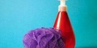 How to Make Homemade Shower Gel: 1 c Castile Soap, 3 T coconut oil or other oil, essential oils.
