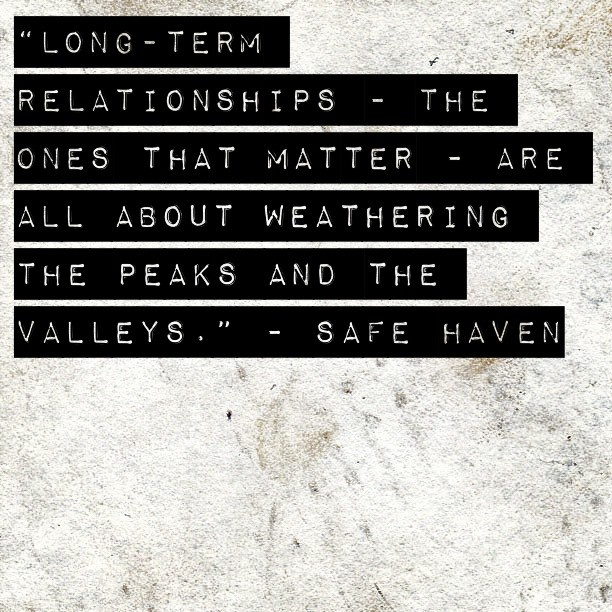 17 Best images about Safe Haven Quotes on Pinterest   The notebook ...
