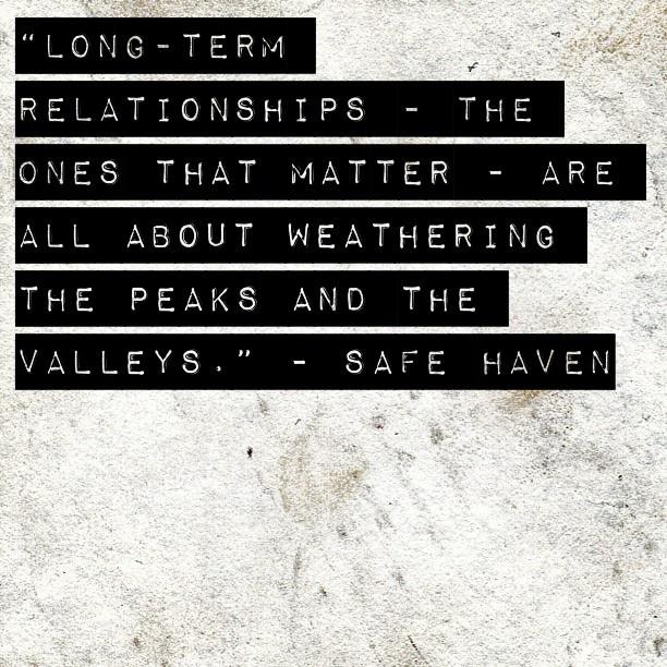 Long Term Relationship...